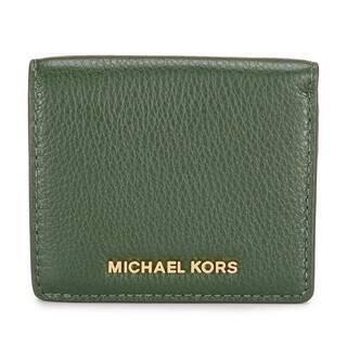 Michael kors business card holders for less overstock michael kors bedford moss carryall card case colourmoves