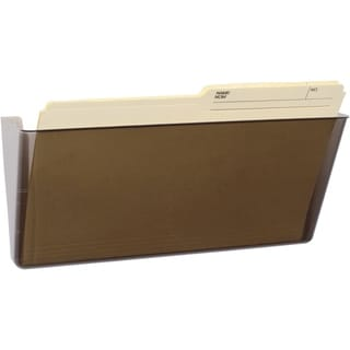 Storex Smoke-colored Legal-sized Wall File (Pack of 6)