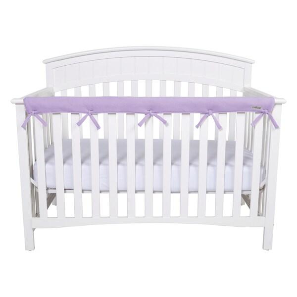 Trend Lab CribWrap Lavender Fleece Rail Cover