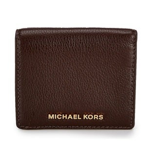 Michael Kors Bedford Coffee Carryall Card Case