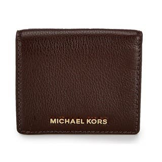Michael kors business card holders for less overstock michael kors bedford coffee carryall card case colourmoves