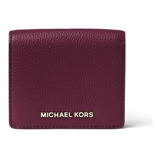 Michael Kors Bedford Plum Carryall Card Case