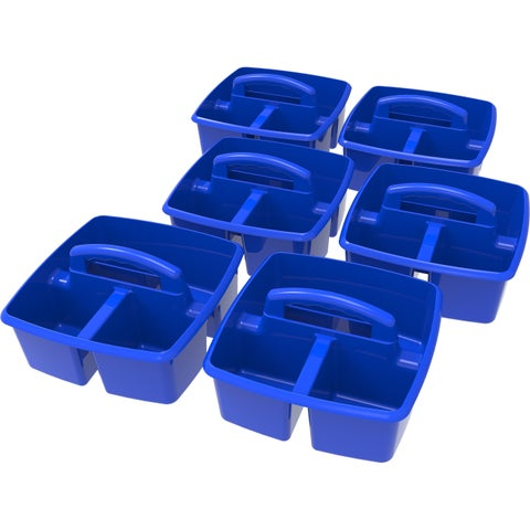 Storex Blue Classroom Caddy (6 units/pack)