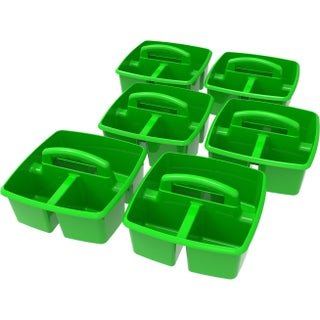 Green Plastic Small Caddy (6 units/pack)