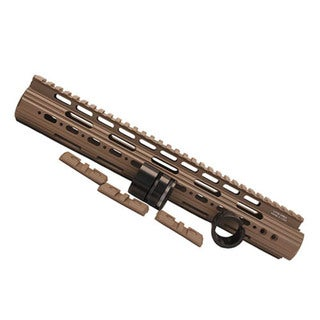 Leapers Inc. AR15 Super Slim Free Float Handguard Flat Dark Earth, 13""