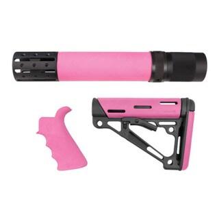 Hogue AR15 Kit BFG Grip Rail Forend Accessory OMC Pink