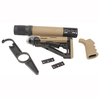 Hogue AR15 Kit BFG Grip Rail Forend Accessory OMC Flat Dark Earth