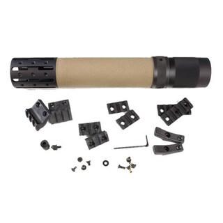 Hogue AR15 Rifle Long Free Float Forend w/Accessory OM Flat Dark Earth