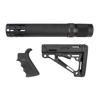 Hogue AR15 Kit BFG Grip Rail Forend Accessory OMC Black