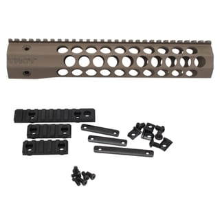 "Troy Industries Alpha Revolution Battle Rail, 11"" Flat Dark Earth"