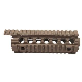 "Troy Industries Carbine/M4 Enhanced Drop-In Battle Rail, 7"" Flat Dark Earth"