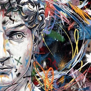Maxwell Dickson 'King David' Modern Canvas Wall Art