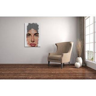 Maxwell Dickson Limited Edition 'Digital Imprint' Wall Art