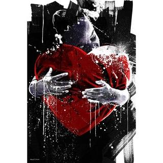 Maxwell Dickson Limited Edition 'A Loving Heart' Wall Art