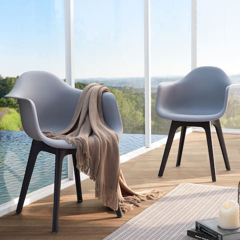 Lyle Grey Dining Chair by Corvus (Set of 2)