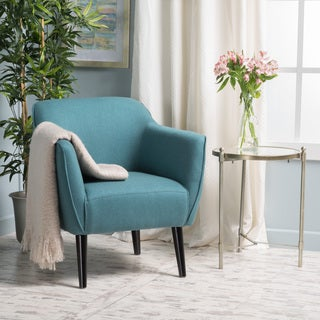 Alphonse Fabric Arm Chair by Christopher Knight Home