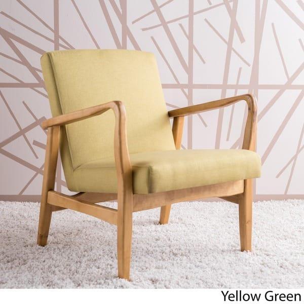 Fantastic Shop Perseus Mid Century Fabric Club Chair By Christopher Lamtechconsult Wood Chair Design Ideas Lamtechconsultcom
