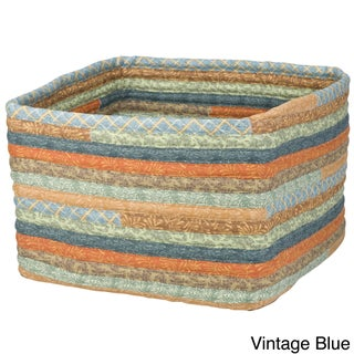 Cozy Country 16-inch x 16-inch x 11-inch Square Storage Basket (4 options available)