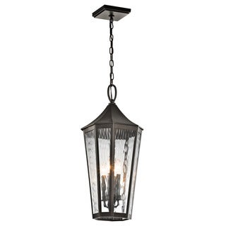 Kichler Lighting Rochdale Collection 4-light Olde Bronze Outdoor Pendant