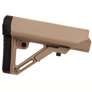 Leapers Inc. Combat Ops S1 Mil-Spec Butt Stock-Flat Dark Earth