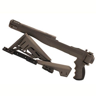 Advanced Technology Intl Ruger 10/22 TactLite Adjustable Side Folding Stock Destroyer Gray w/CR/SRS
