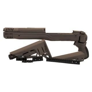 Advanced Technology Intl Ruger Mini 14 TactLite Adjustable Side Folding Stock w/SRS Destroyer Gray