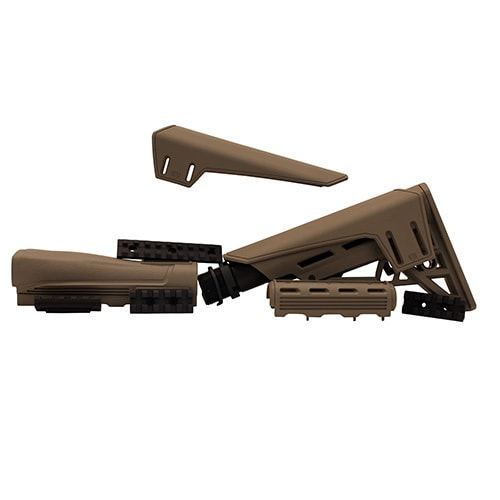 Advanced Technology Intl AK-47 TactLite Elite Package with Scorpion Recoil System Flat Dark Earth