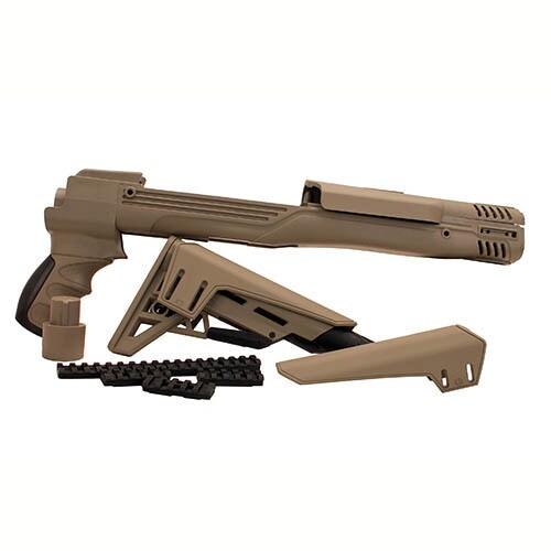 Advanced Technology Intl Ruger Mini 14 TactLite Adjustable Side Folding Stock w/SRS Flat Dark Earth