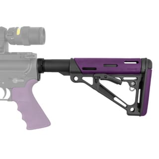 Hogue AR-15/M-16 OMC Buttstock Assmbly Mil-Spec Purple