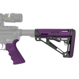 Hogue AR-15/M-16 Kit Coom Purple Rubber