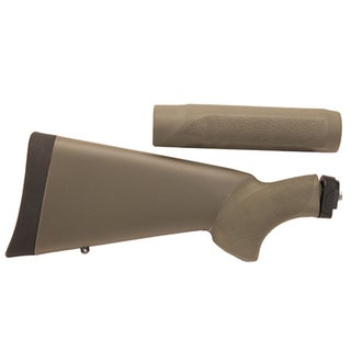 Hogue Remington 870 20 Gauge OverMolded Stock w/Forend Olive Drab Green