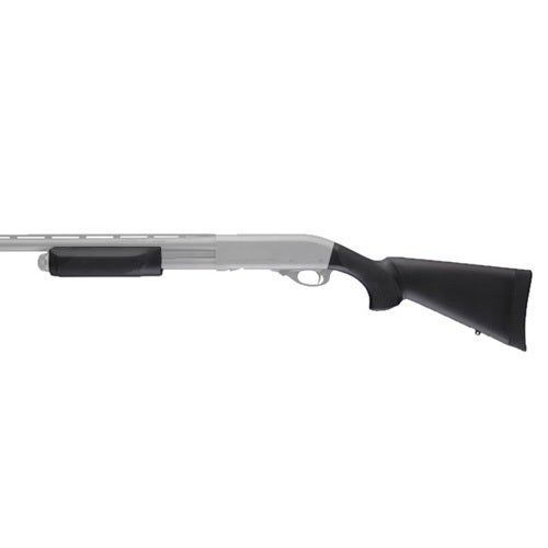 Hogue Remington 870 20 Gauge OverMolded Stock w/Forend Black