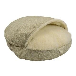 Snoozer Premium Micro Suede Cozy Cave Palmer Pet Bed