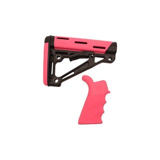 Hogue AR-15/M-16 Kit - Pink Rubber