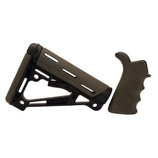 Hogue AR-15/M-16 Kit - OD Green Rubber