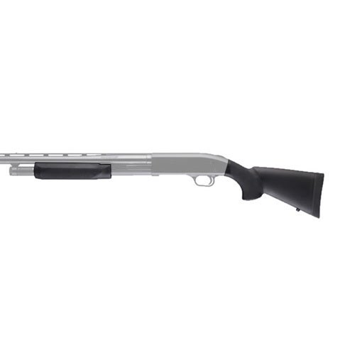 """Hogue Mossberg 500 20 Gauge OverMolded Stock w/Forend 12"""" LOP"""
