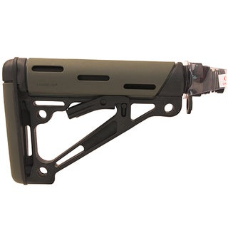Hogue AR15 OMC Buttstock Asm - Mil-Spec Olive Drab Green