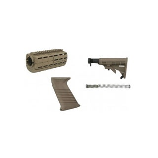 Tapco Intrafuse AR15 Stock Set Flat Dark Earth