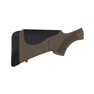 Advanced Technology Intl Akita Adjustable Stock with Neoprene/CR/SRS, Dark Earth Brown Mossberg