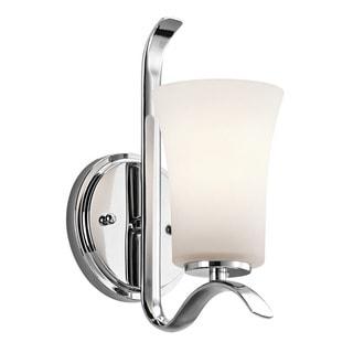 Kichler Lighting Armida Collection 1-light Chrome Wall Sconce