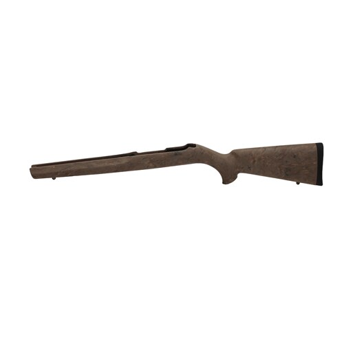 Hogue 10/22 Overmolded Stock Rubber, Magnum, Standard Barrel, Ghillie Earth