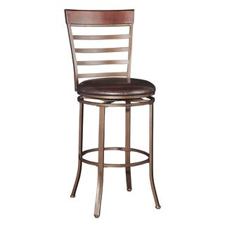 Shop Big And Tall Metal Crossed Legs Bar Stool On Sale