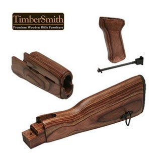 Tapco Timber Smith AK47 Romainian Stock Set Brown Laminate