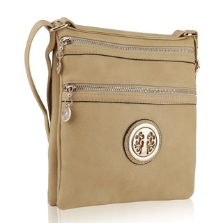 MKF Collection Double Sided Multiple Pocket Crossbody Bag by Mia K. Farrow