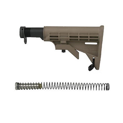 Tapco AR T6 Collapsible Stock Dark Earth