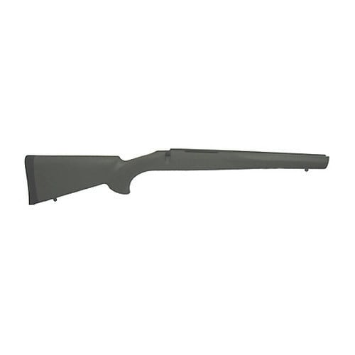 Hogue Rubber Overmolded Stock for Howa 1500/Weatherby Long Action OD Green