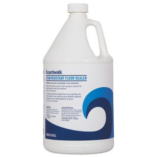 Boardwalk Stain Resistant Floor Sealer 1 gal Bottle 4/Carton