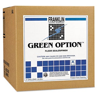 Franklin Cleaning Technology Green Option Floor Sealer/Finish 5gal Box