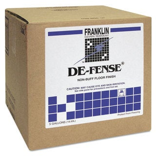 Franklin Cleaning Technology DE-FENSE Non-Buff Floor Finish Liquid 5 gal. Box