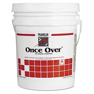 Franklin Cleaning Technology Once Over Floor Stripper Mint Scent Liquid 5 gal. Pail
